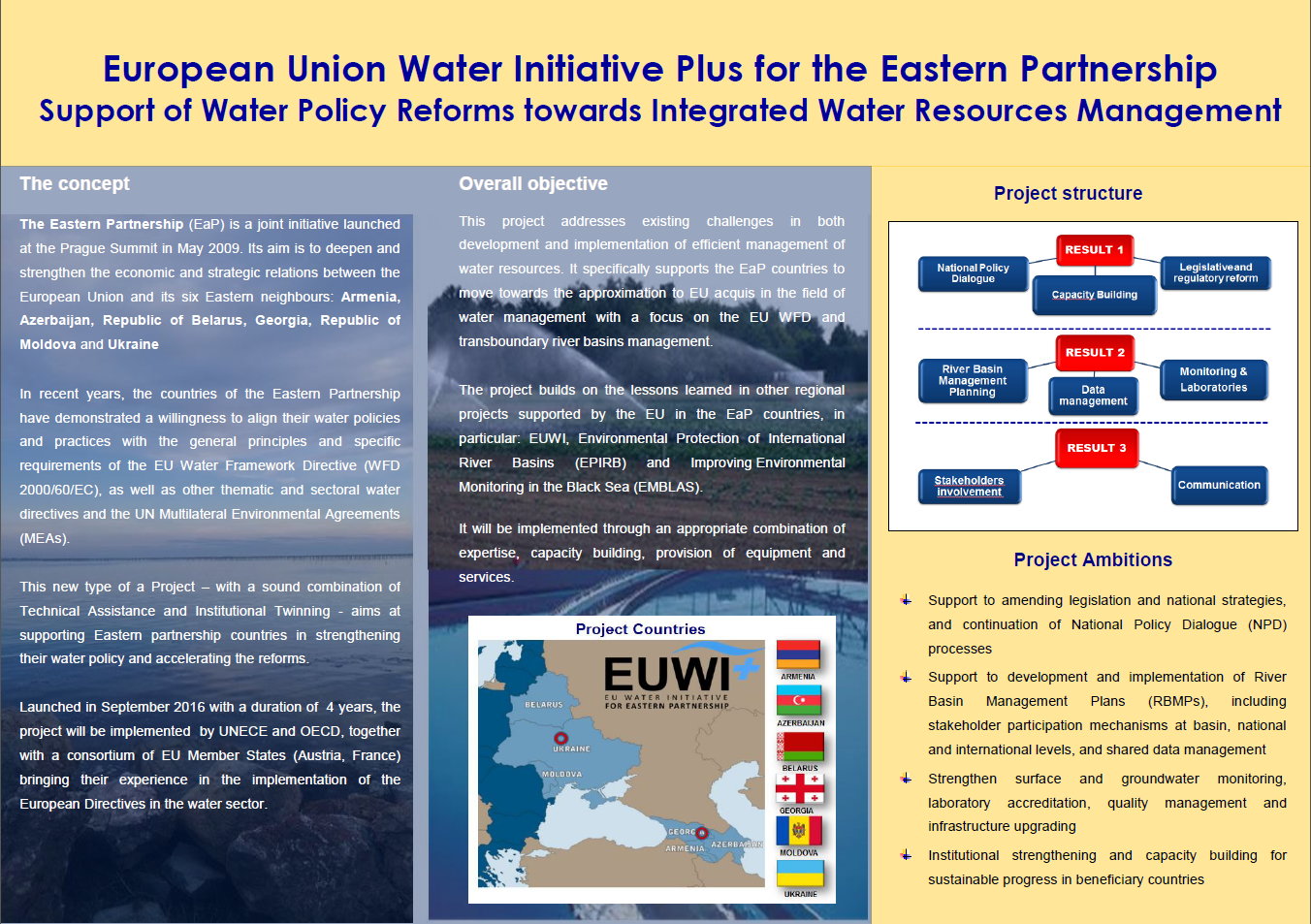 """the eu water framework directive essay Goal: the eu water framework directive aims to ensure restoration of europe's water bodies to """"good ecological status"""" by 2027."""